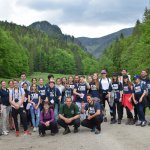 Mladí reporteri na terénnom workshope v Juráňovej doline v Tatrách. Foto – Richard Medal/Mladí reportéri