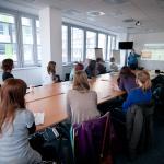 Úvod workshopu patril zoznámeniu účastníkov a krátkej diskusii o novinárskej práci a fungovaní médií na Slovensku.