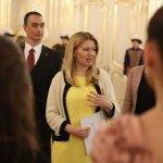 Bolo úžasné vidieť aj cítiť, ako snami pani prezidentka prežíva nadšenie zocenených prác. Foto: Marián Garaj, Kancelária prezidentky SR