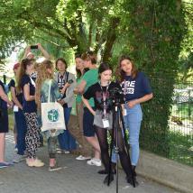 Mladí reportéri v akcii