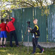 Čistenie plota je tiež zdokumentované